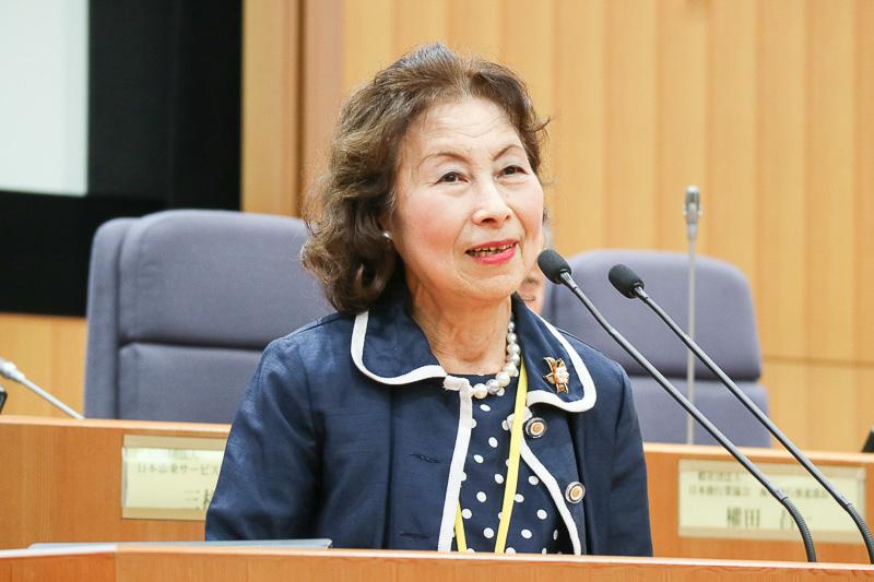 一般社団法人日本添乗サービス協会 会長 三橋滋子氏
