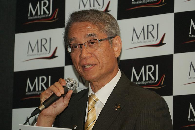 三菱航空機株式会社 取締役社長 水谷久和氏