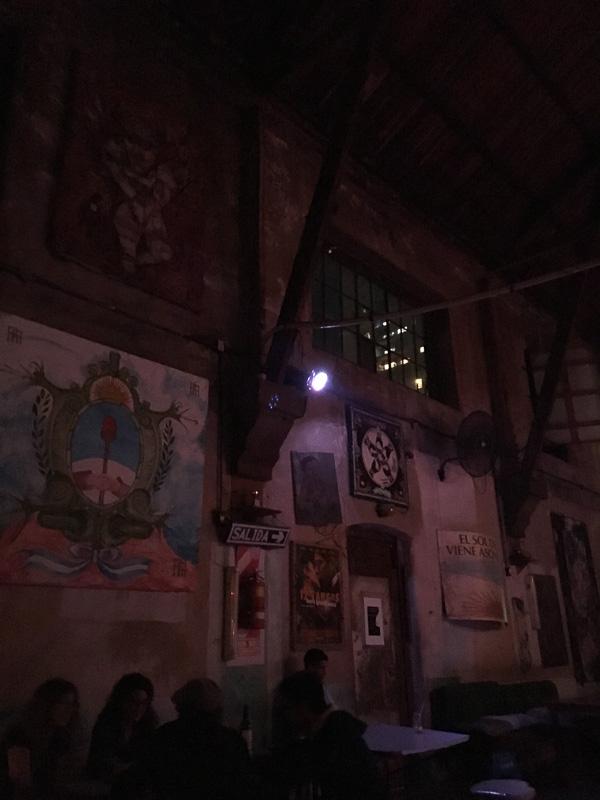 La catedral clubの店内。天井が高くてかなり広いです