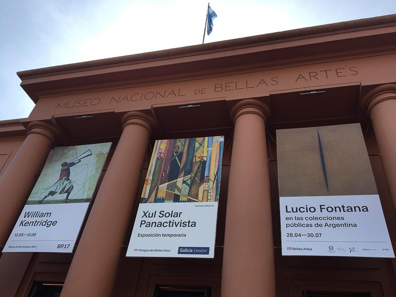 国立美術館入り口