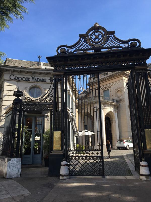 国立装飾美術館の入り口