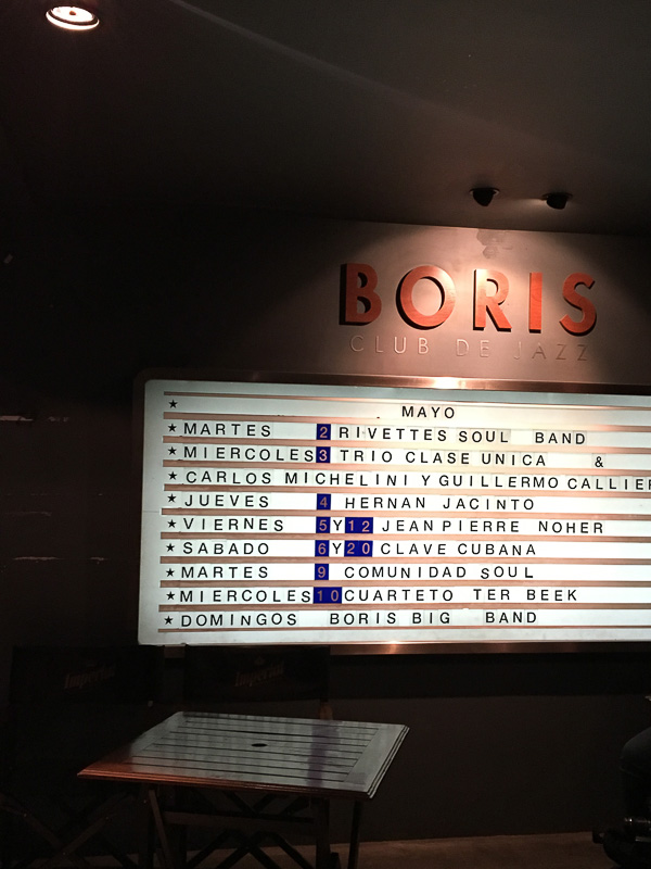 Boris club入り口