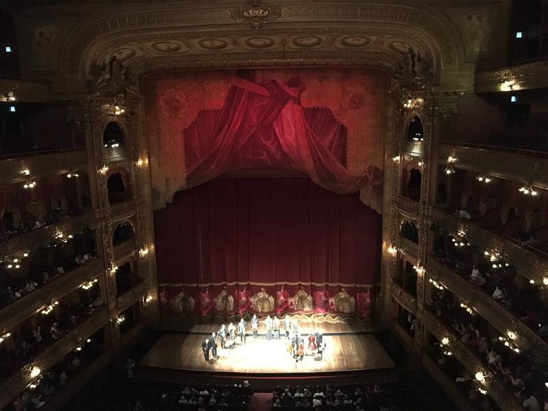 コロン劇場でのコンサート