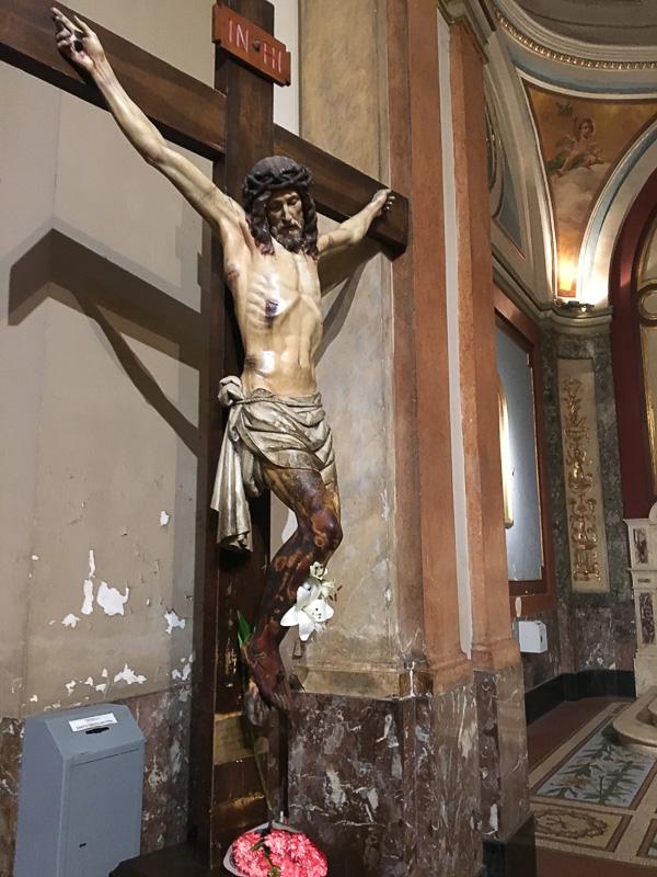 磔になったキリスト