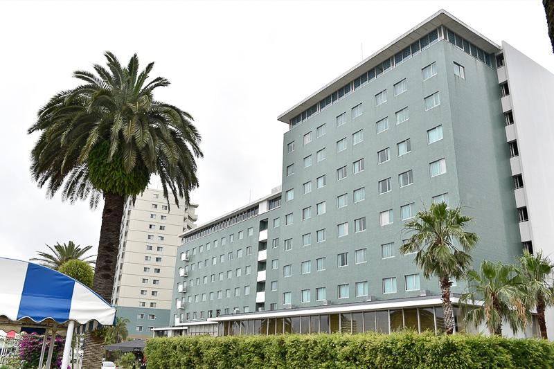 宮崎観光ホテルで第20回株主総会と就任会見を開いた