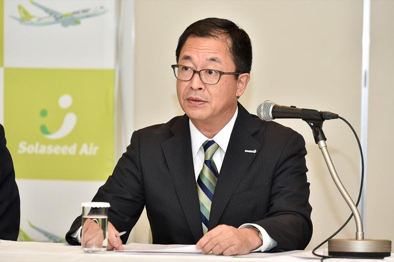 株式会社ソラシドエア 取締役 西尾敏氏