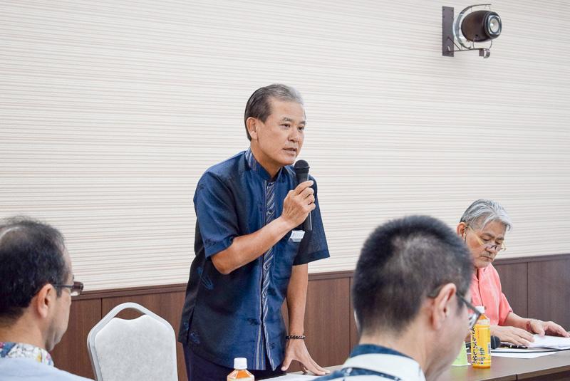 2017年度OCVBの業務執行理事(専務理事)に就任した前田光幸氏
