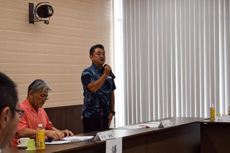 2017年度OCVBの業務執行理事(常務理事)に就任した譜久山健氏