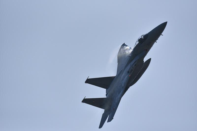 F-15の機動飛行