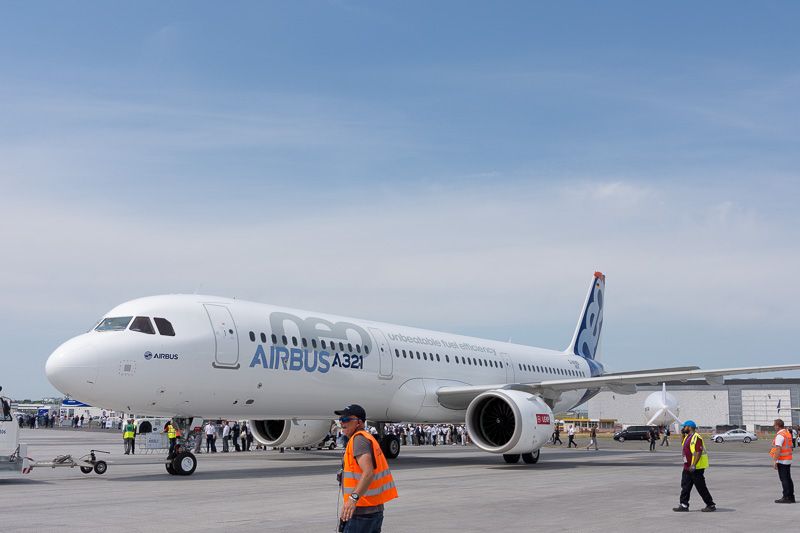 エアバス A321neo型機