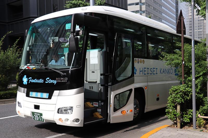 平成エンタープライズの「VIP Tour」が企画したバスツアーに参加した
