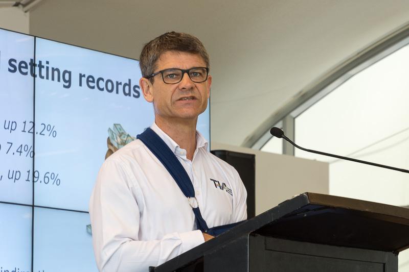 ニュージーランド観光業協会 CE クリス・ロバーツ(Chris Roberts)氏