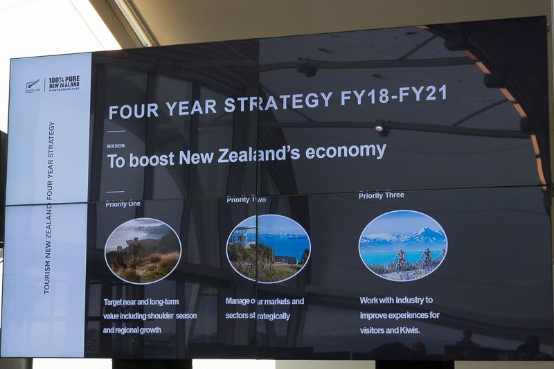2021年までの戦略。閑散期対策や地方誘客を中心に据える