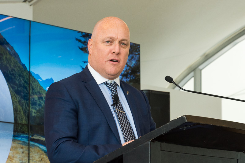 ニュージーランド航空 CEOのクリストファー・ラクソン(Christopher Luxon)氏