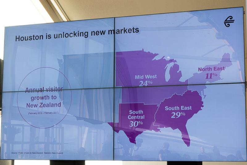 ヒューストン線の開設で米国東部市場が好調に伸びている