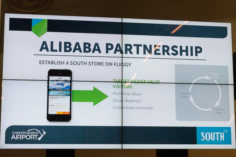 アリババのプラットフォームを使って、Alipayでの支払い可能など場所の拡大や、ターゲティング、新たな付加価値創造などに取り組んでいく