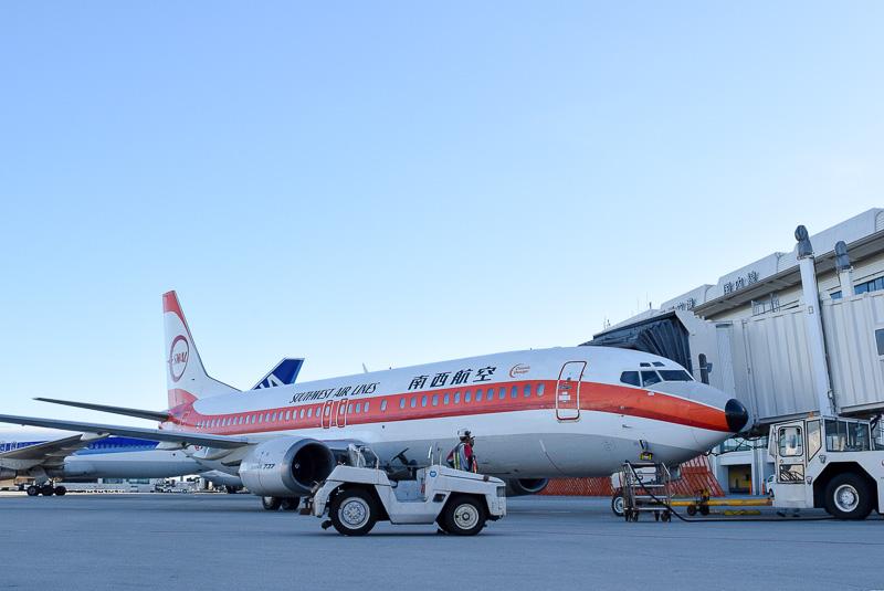 JTA601便の使用機材「SWALジェット」