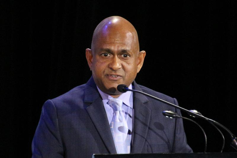 シンガポール観光局のG B Srithar氏(Mr. G B Srithar Regional Director, South Asia, Middle East and Africa Sigapore Tourism Board)