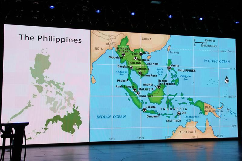 フィリピンの東南アジアからのアクセスのよさをアピール