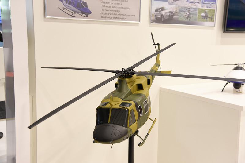 「ベル412EPI発展型」をベースとした陸上自衛隊の次期多用途ヘリコプター