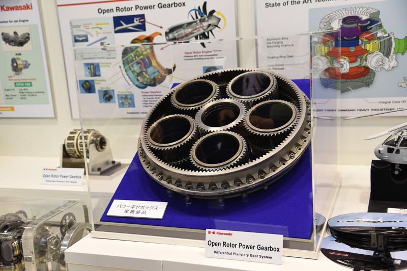 オープンローターエンジン用ギヤボックス
