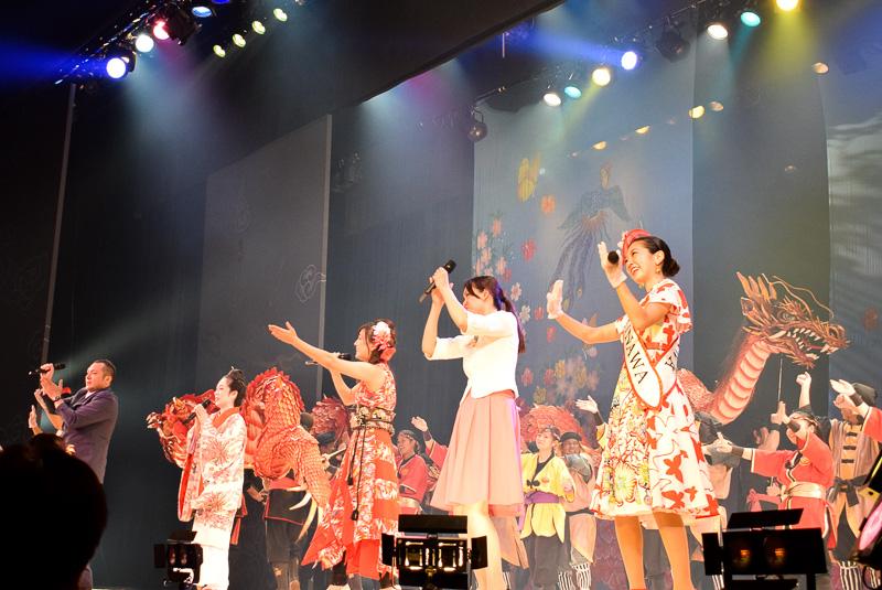 ナイトエンタテイメント「THE MATSURI OKINAWA~ザ・祭・オキナワ~」が7月11日にスタート