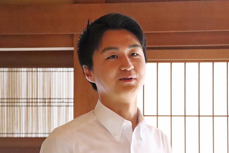 株式会社Yumegurashi 代表取締役 大門(おおかど)真悟氏