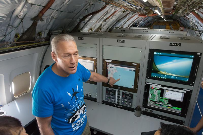 Honeywell Aerospace アジア太平洋事業開発ディレクターのポール・ネフ氏による説明