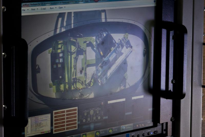 衛星との通信に使っているアンテナ。実際に見ることはできないのでイメージのみ