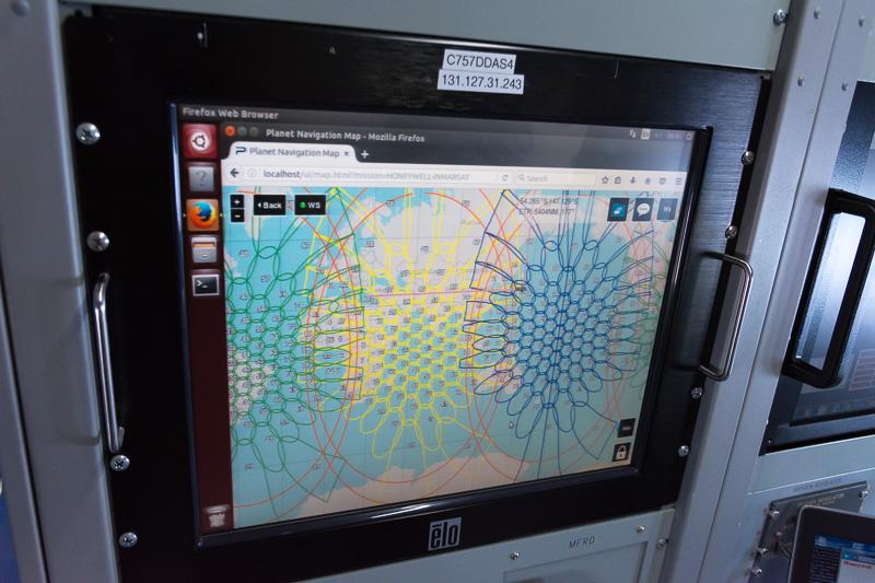 インマルサットが運用中のKaバンド用衛星のカバー範囲。カメの甲羅のようになっているのは、スポットビームのエリアを示す