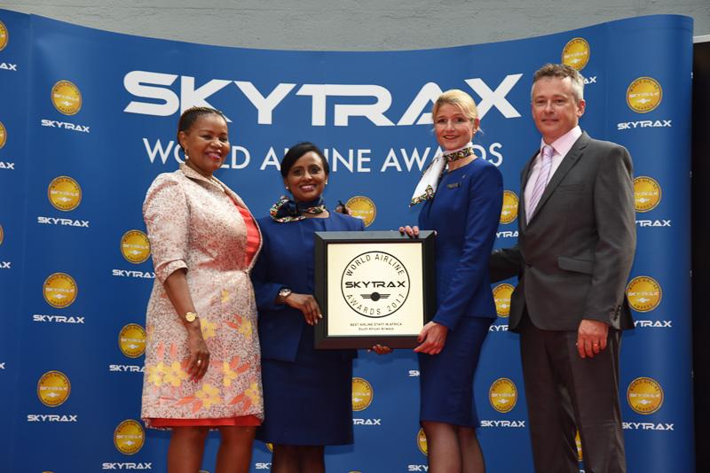 Best Airline Staff Service in Africa:South African Airways
