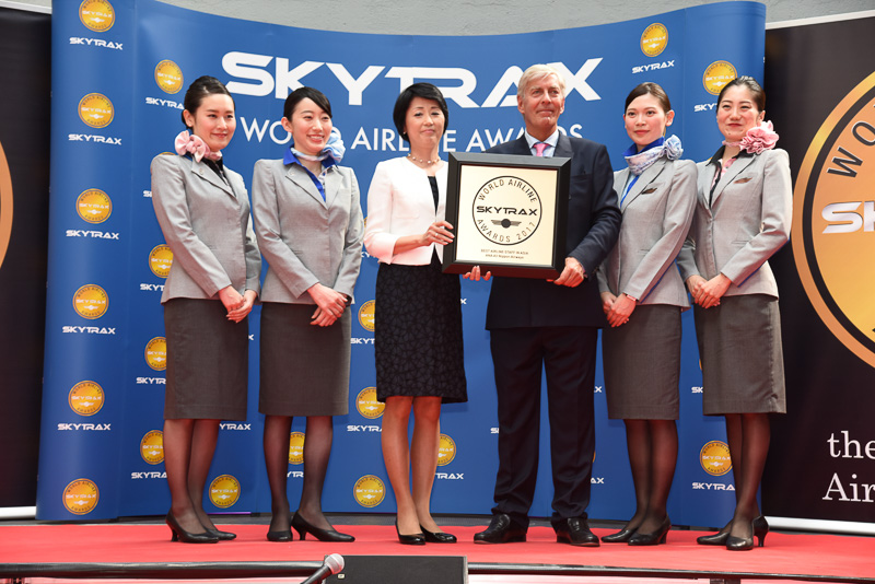 Best Airline Staff Service in Asia:ANA All Nippon Airways