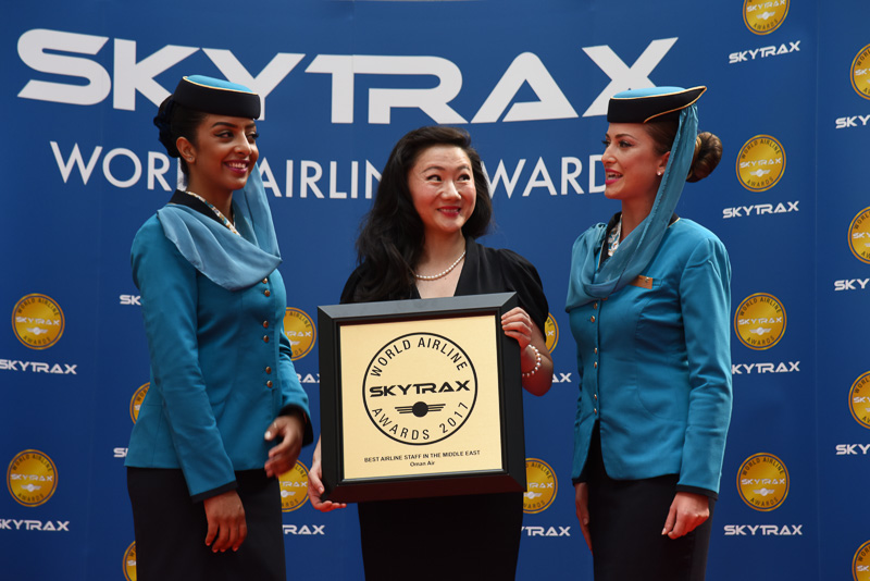 Best Airline Staff Service in the Middle East:Oman Air