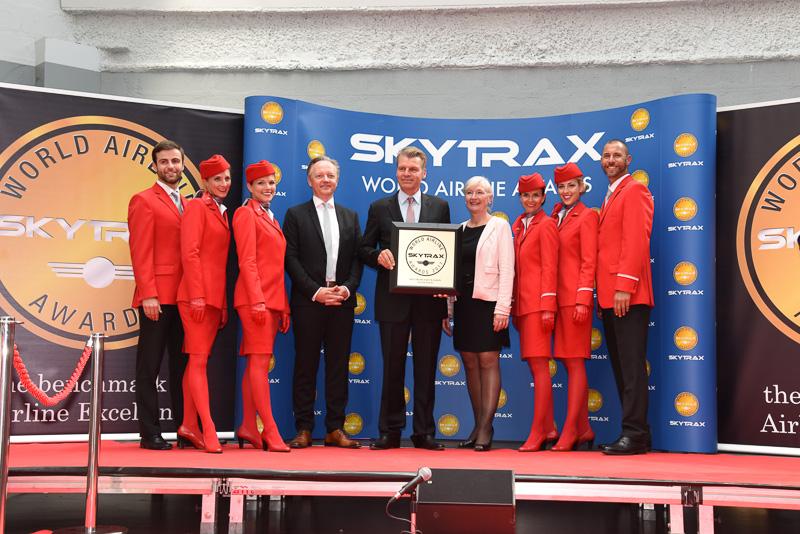 Best Airline Staff Service in Europe:Austrian Airlines
