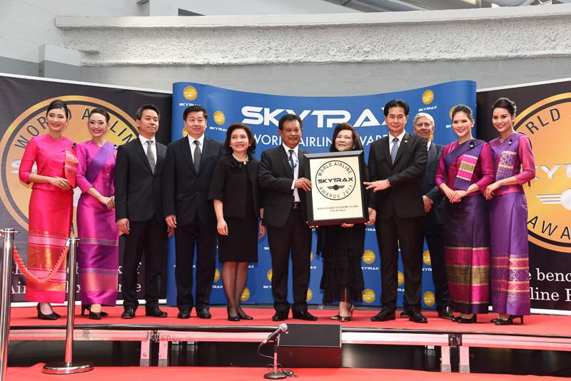 World's Best Economy Class:Thai Airways