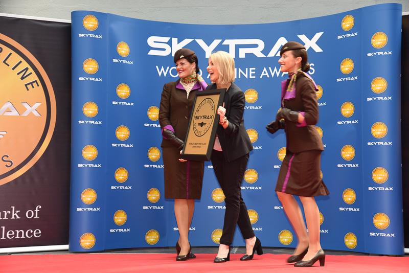 World's Best First Class:Etihad Airways