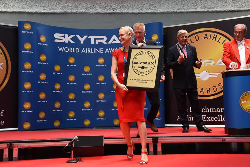 World's Best Leisure Airline:Thomson Airways