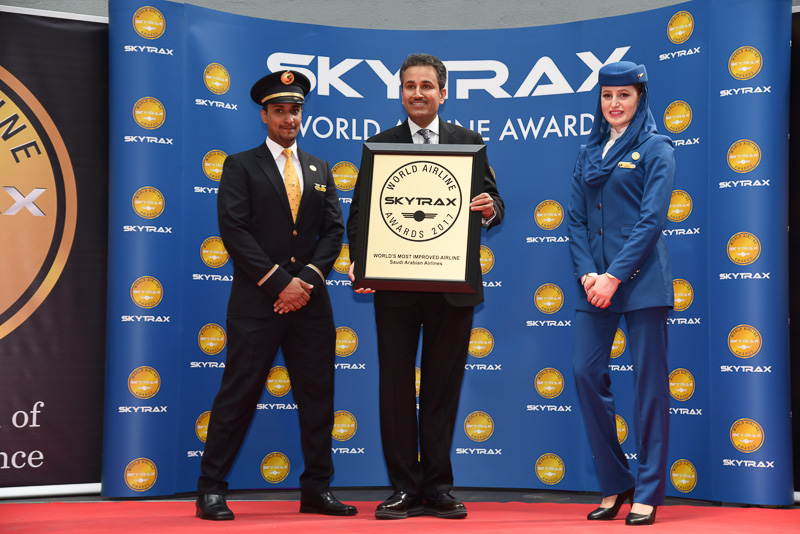 World's Most Improved Airline:Saudi Arabian Airlines