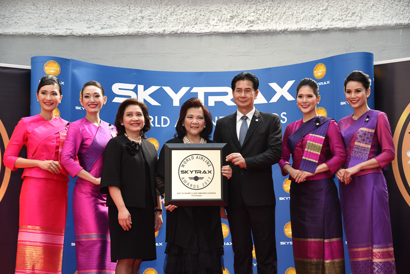 Best Economy Class Onboard Catering:Thai Airways