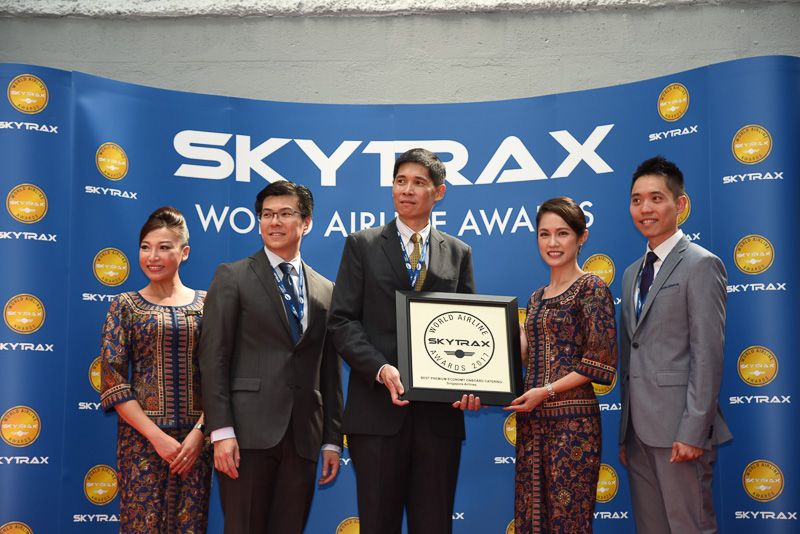 Best Premium Economy Class Onboard Catering:Singapore Airlines