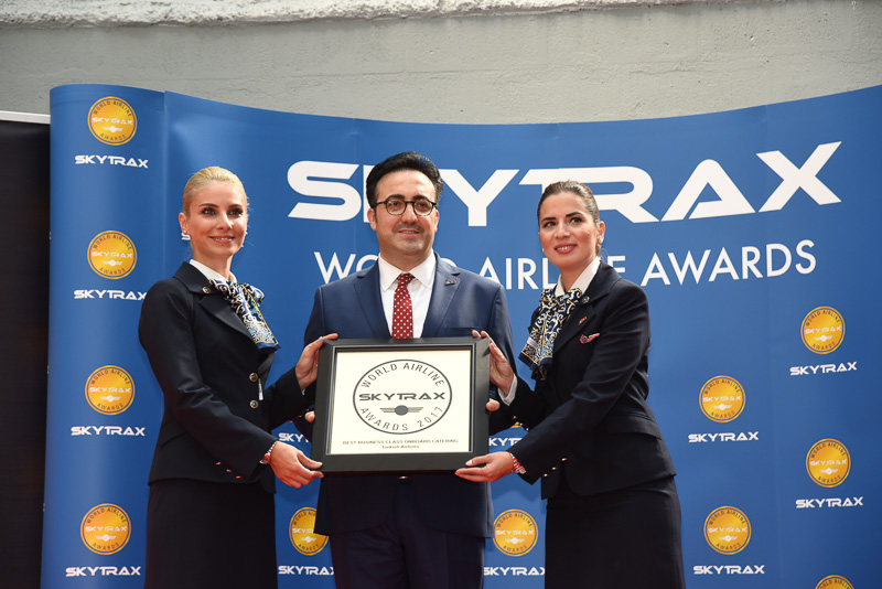 Best Business Class Onboard Catering:Turkish Airlines