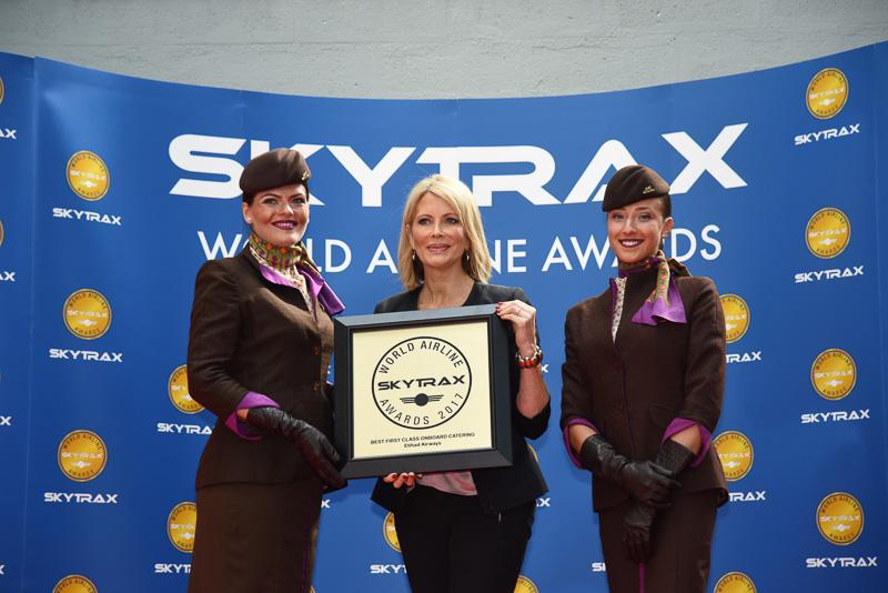 Best First Class Onboard Catering:Etihad Airways