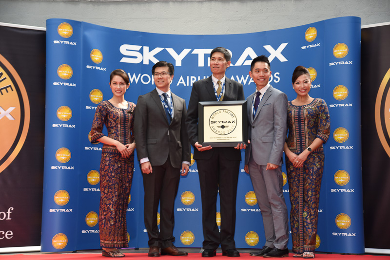 Best Business Class Airline Seat:Singapore Airlines