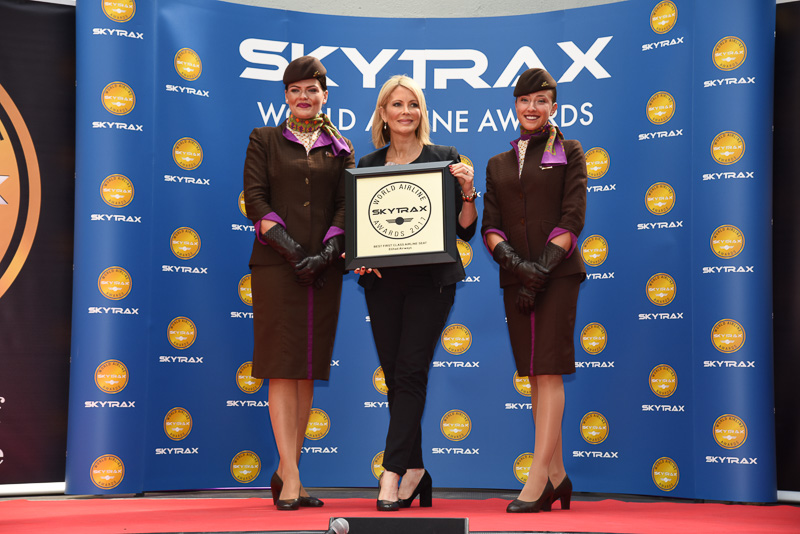 Best First Class Seat Airline:Etihad Airways