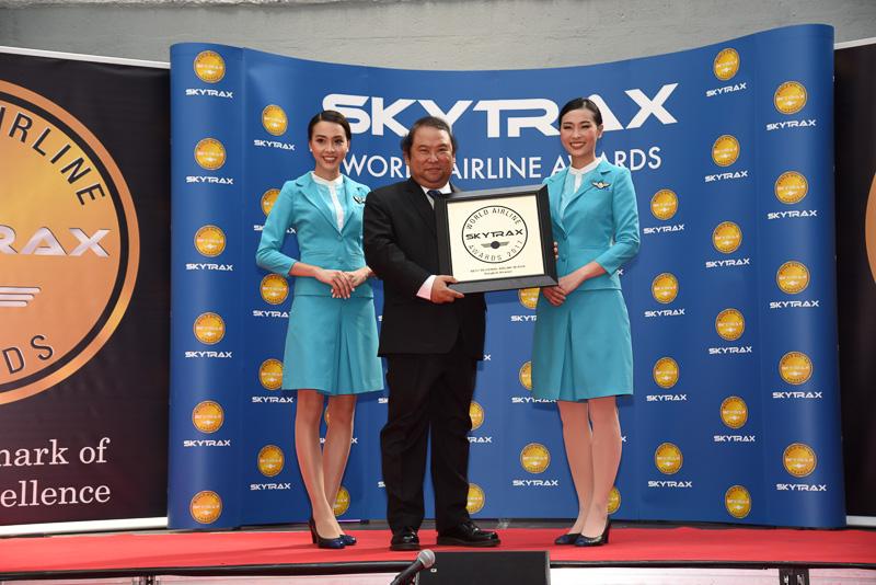 Best Regional Airline in Asia:Bangkok Airways