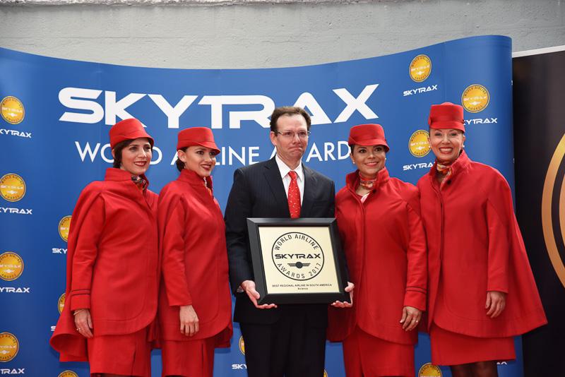 Best Regional Airline in South America:Avianca