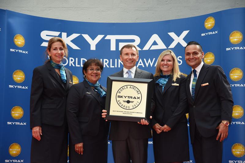Best Regional Airline in North America:Alaska Airlines