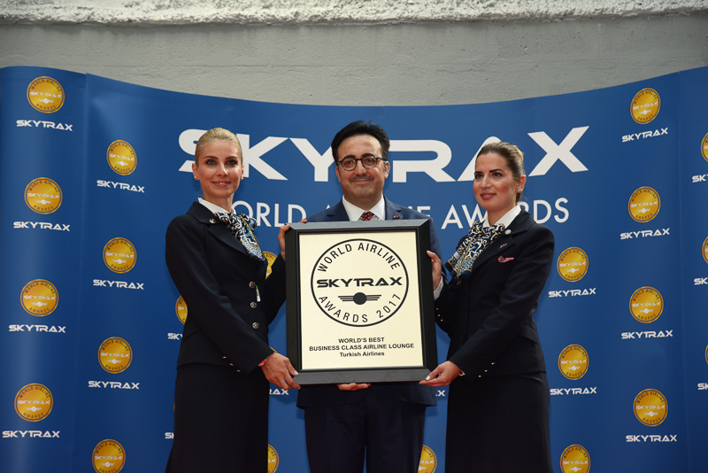 Best Business Class Airline Lounge:Turkish Airlines