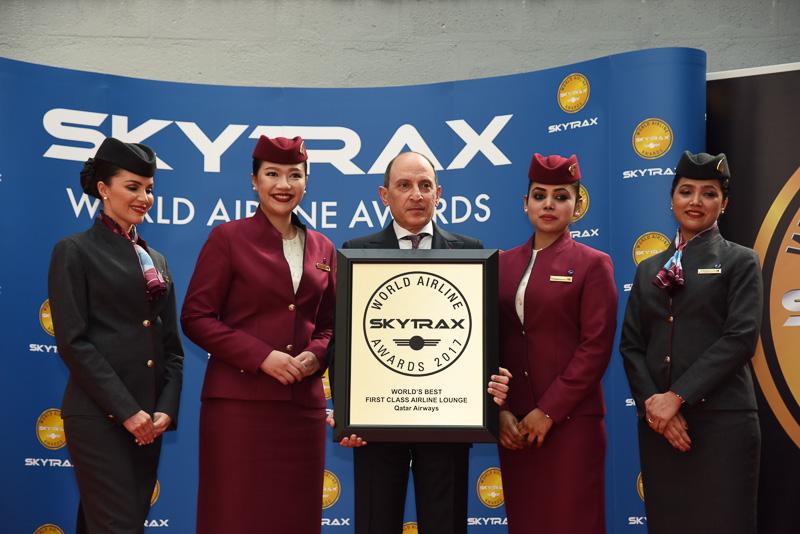 Best First Class Airline Lounge:Qatar Airways