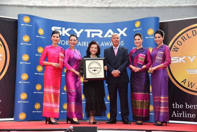 Best Airline Lounge Spa Facility:Thai Airways